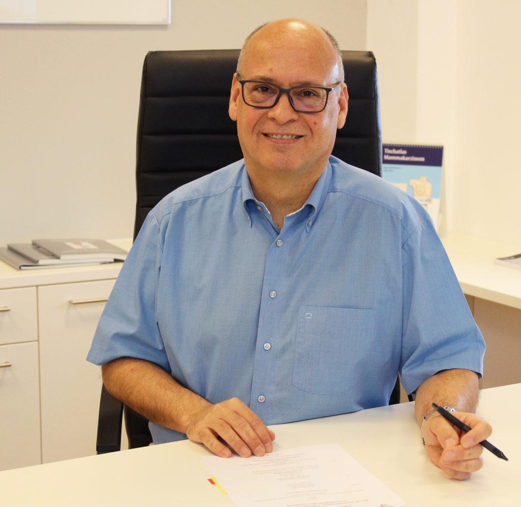 Ab 1. Februar 2017 der neue Chefarzt der Abteilung Frauenheilkunde: Dr. med. Jürgen Terhaag