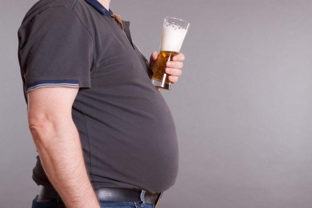 Übergewicht ist einer der Hauptrisikofaktoren für eine Leberverfettung. (Foto: PeJo - fotolia.com)