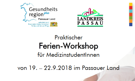 In Kooperation mit den Landkreis Passau Gesundheitseinrichtungen
