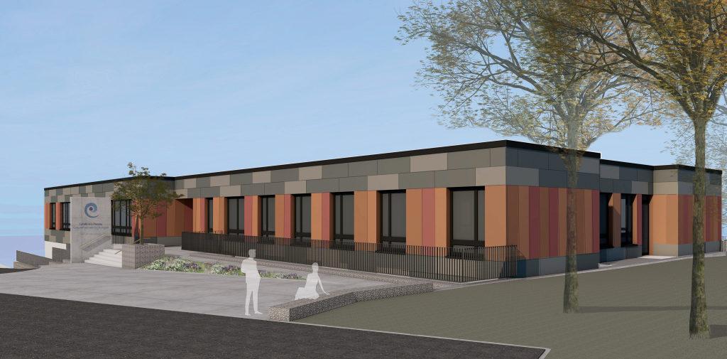 Ausbildung in der Krankenpflege: So sieht die neue Berufsfachschule in Rotthalmünster aus.