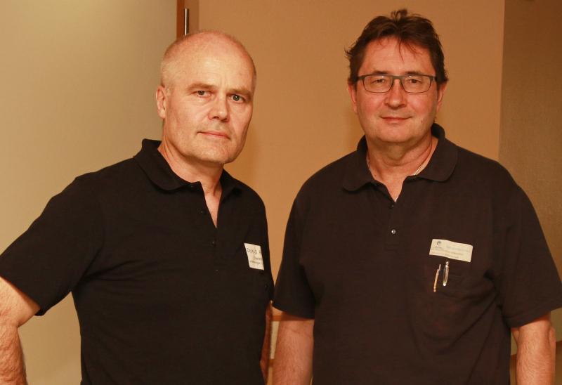 Chefarzt Dr. Rieger und Oberarzt Dr. Milkiewicz_Schulterchirurgie