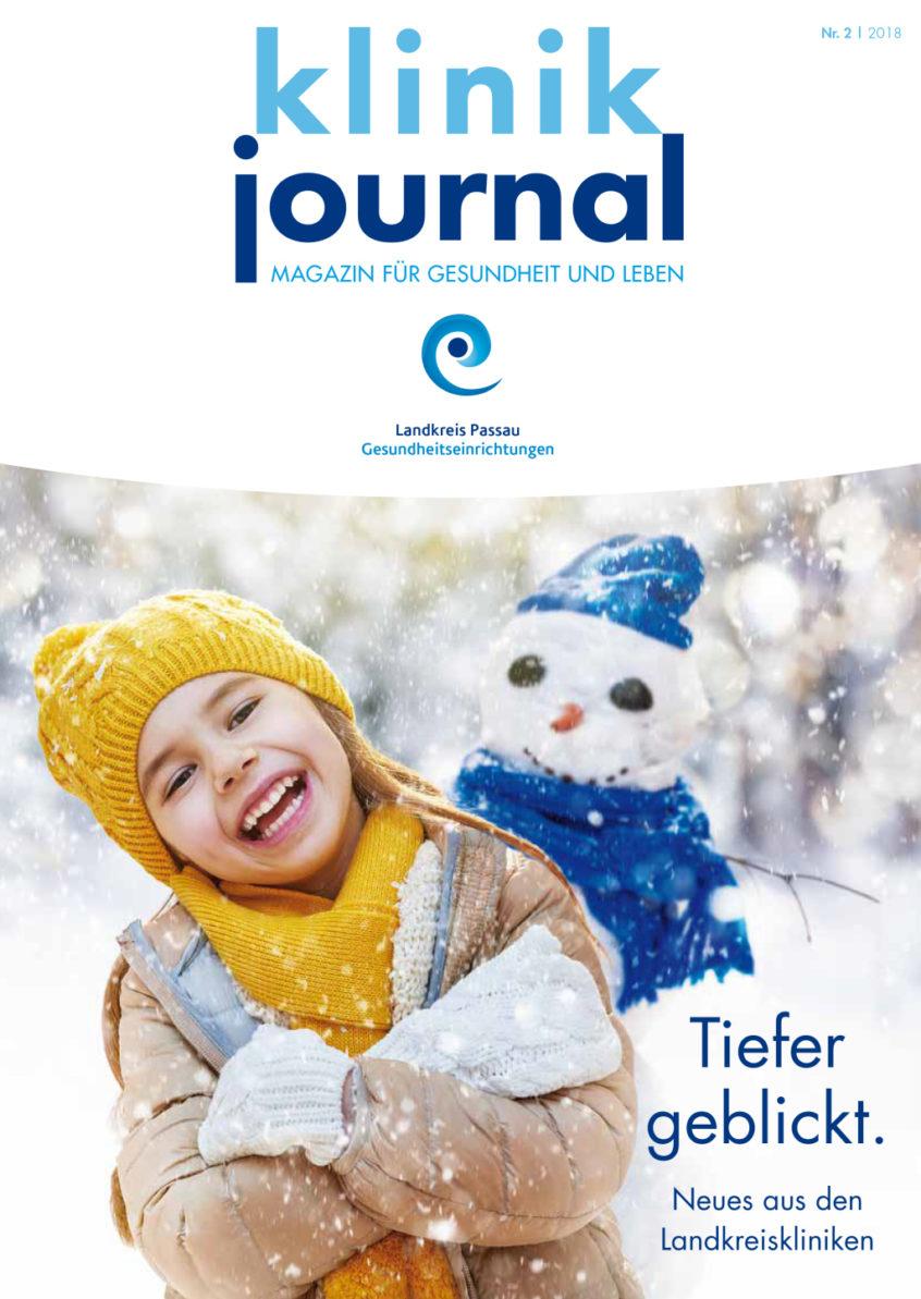 Klinik Journal 2/2018 - Magazin für Gesundheit und Leben