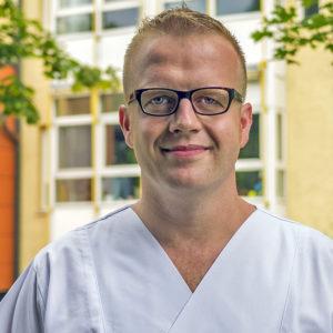 Leitender Oberarzt Dr. med. Alfons Murr, Facharzt Chirurgie, Schwerpunkt Viszeralchirurgie, Spezielle Viszeralchirurgie