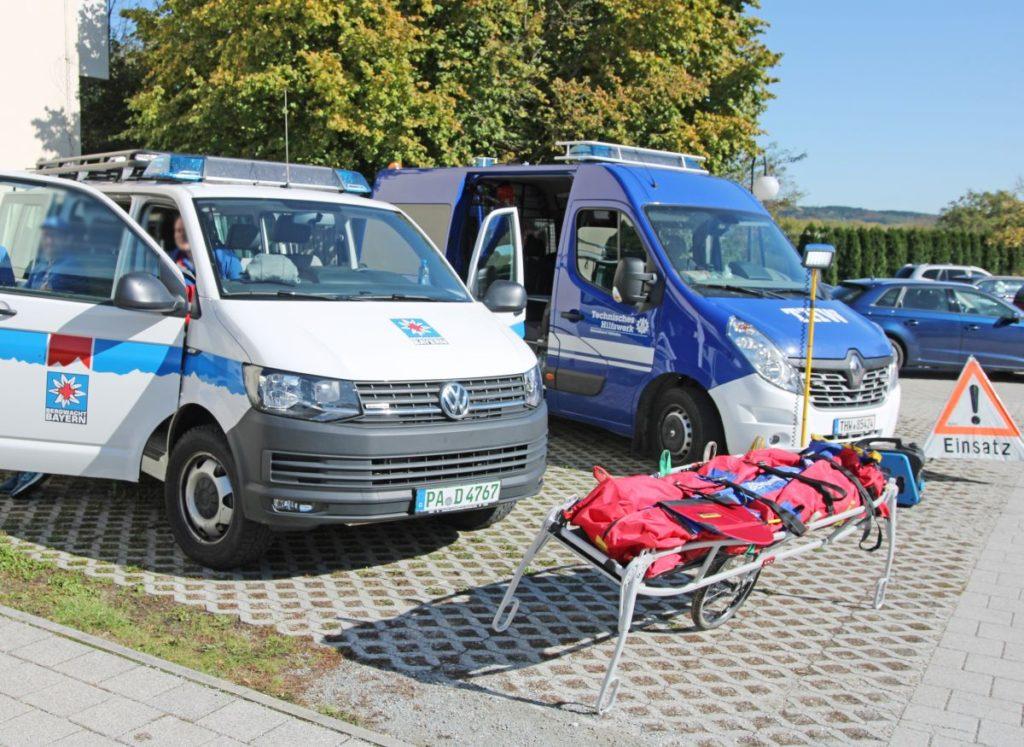 Hilfsorganisationen-Vilshofener Notfalltag