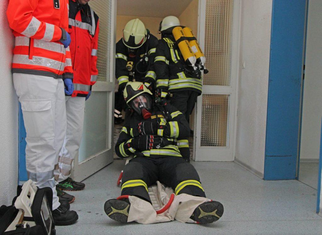 Sichtungsübung Notfalltag