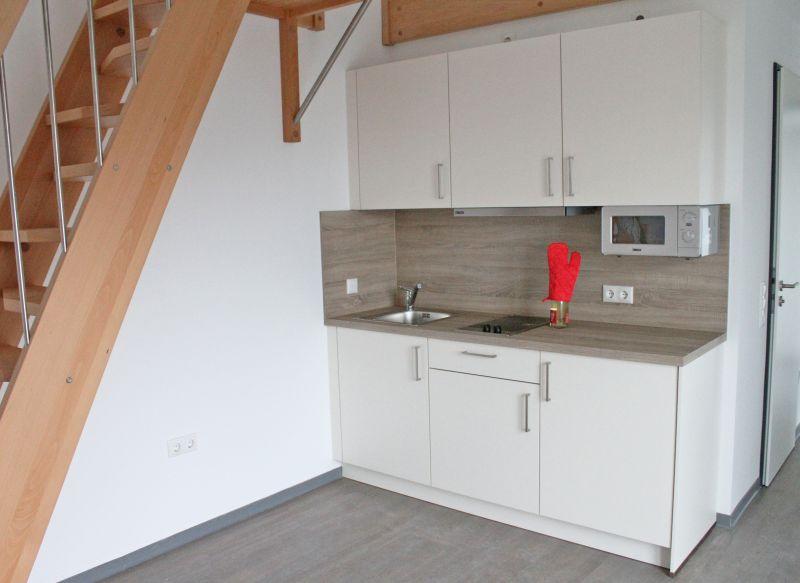 Jedes Appartement hat eine eigene Küche