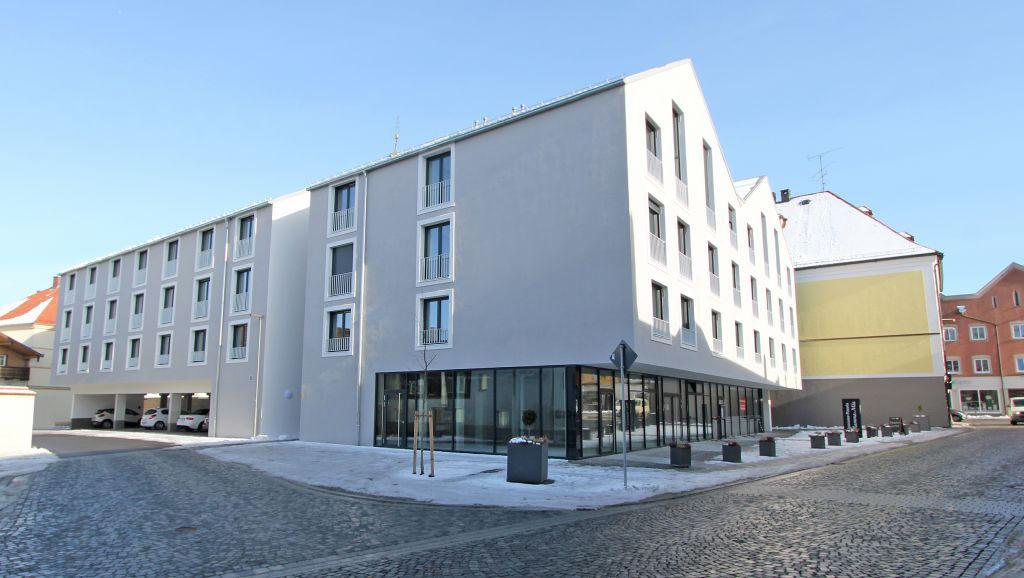 Schöner wohnen in Rotthalmünster: Moderne Appartement-Wohnanlage im Ortskern