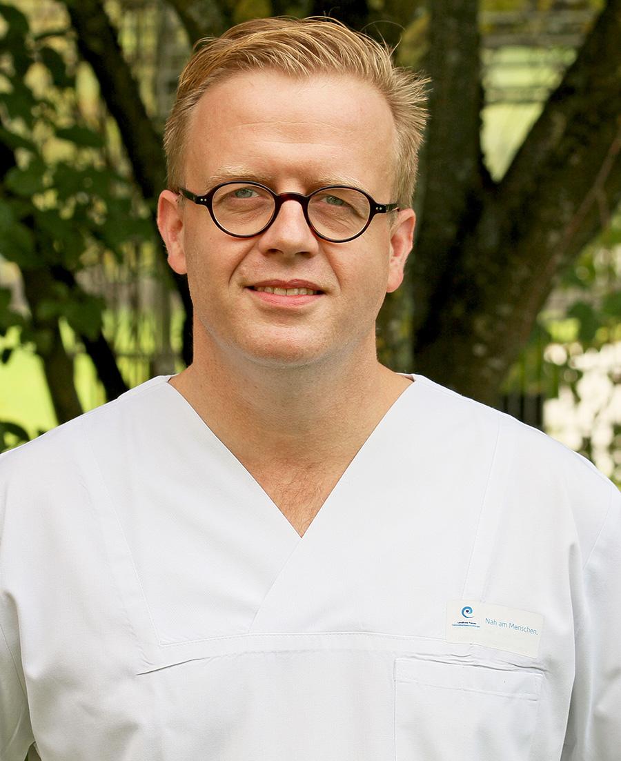 Dr. med. Alfons Murr, Facharzt für Chirurgie, Schwerpunkt Viszeralchirurgie, Zusatz Spezielle Viszeralchirurgie