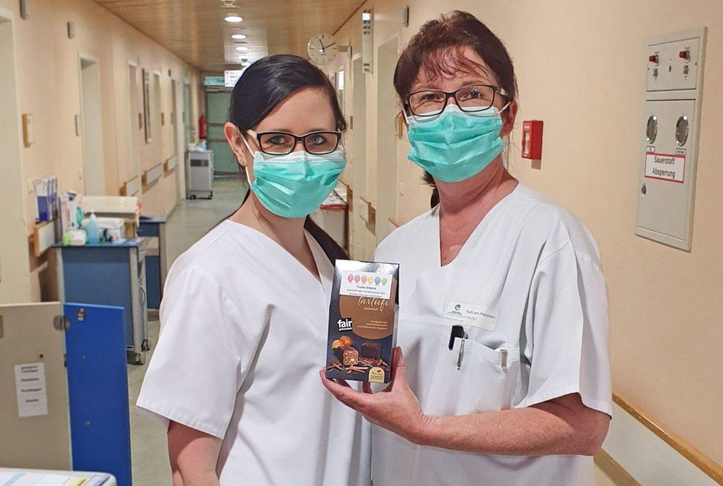 Ostergeschenke 2020 Krankenhaus Vilshofen
